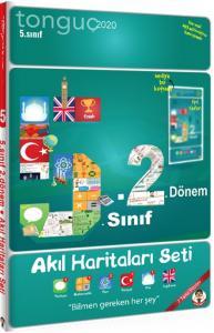 Tonguç Akademi 5. Sınıf 2. Dönem Akıl Haritaları Seti