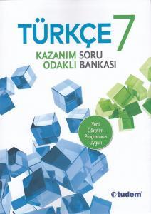 Tudem 7. Sınıf Türkçe Kazanım Odaklı Soru Bankası