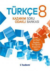 Tudem Yayınları 8. Sınıf Türkçe Kazanım Odaklı Soru Bankası