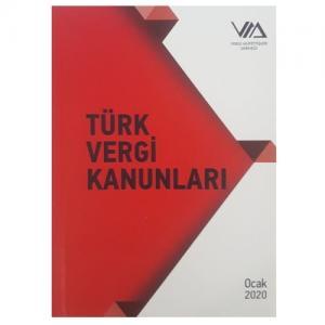 Vergi Müfettişleri Derneği Türk Vergi Kanunları TVK  2020 Ocak