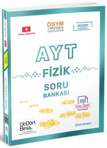 ÜçDörtBeş Yayınları AYT Fizik Soru Bankası