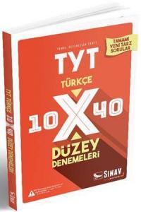Sınav TYT Türkçe 10x40 Düzey Denemeleri