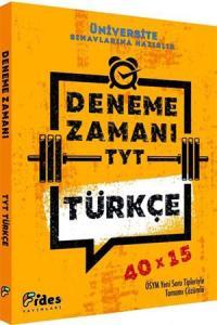 Fides TYT Türkçe 40x15 Deneme Zamanı