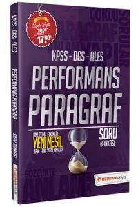 Uzman Kariyer Yayınları 2020 KPSS Performans Paragraf Soru Bankası