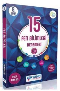 Yanıt Yayınları 8. Sınıf Fen Bilimleri 15 li Branş Denemesi