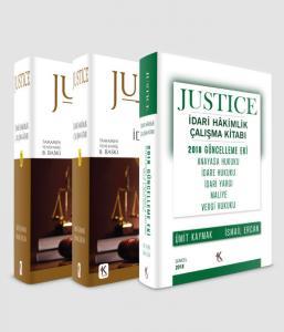 Kuram Justice İdari Hakimlik Çalışma Kitabı (2 Cilt) Güncellenmiş Justice İdari Hakimlik Kitabı İlaveli