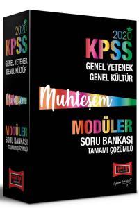 Yargı Yayınları 2020 KPSS Muhteşem GY-GK Tamamı Çözümlü Modüler Soru Bankası Seti