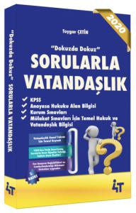4T Yayınları 2020 KPSS Sorularla Vatandaşlık