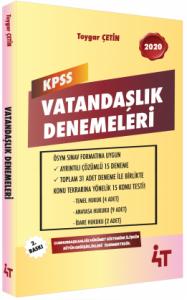 4T Yayınları 2020 KPSS Vatandaşlık Denemeleri