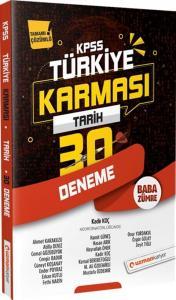 Uzman Kariyer Yayınları 2020 KPSS Tarih Türkiye Karması 30 Deneme Tamamı Çözümlü