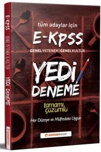 Uzman Kariyer Yayınları E KPSS Tamamı Çözümlü 7 li Deneme Seti