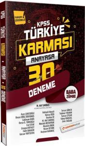 Uzman Kariyer Yayınları 2020 KPSS Anayasa 30 Deneme