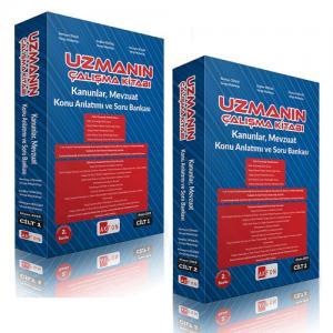 Uzmanın Çalışma Kitabı Konu Anlatımı ve Soru Bankası 2-Cilt
