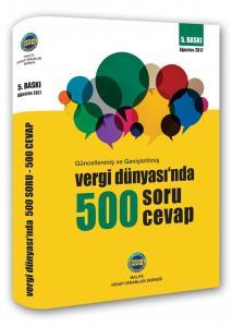Vergi Dünyasında 500 Soru 500 Cevap 2017 - Maliye Hesap Uzmanları Derneği