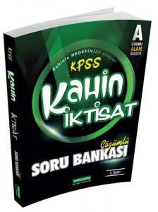 Yaklaşım Kariyer Yayınları KPSS A Kahin İktisat Çözümlü Soru Bankası