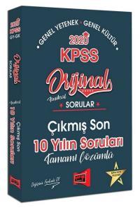 Yargı Yayınları 2020 KPSS Genel Yetenek Genel Kültür Orijinal Sorular Fasikül Tamamı Çözümlü Çıkmış Son 10 Yılın Soruları