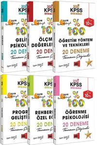 Yargı Yayınları 2020 KPSS Eğitim Bilimleri Tüm Dersler Tamamı Çözümlü 20 Deneme Seti