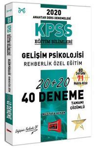 Yargı Yayınları 2020 KPSS Eğitim Bilimleri Gelişim Psikolojisi, Rehberlik Özel Eğitim Tamamı Çözümlü 40 Deneme