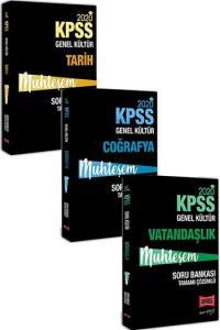 Yargı Yayınları 3 lü SET 2020 KPSS Muhteşem Genel Kültür Soru Bankası Seti