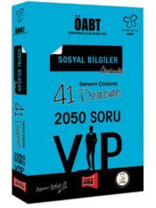 Yargı KPSS ÖABT Değişim Serisi VIP Sosyal Bilgiler Öğretmenliği Tamamı Çözümlü 41 Deneme