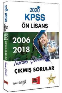 Yargı Yayınları 2020 KPSS Ön Lisans 2006-2018 Tamamı Çözümlü Çıkmış Sorular