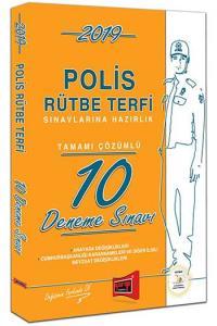 Yargı Polis Rütbe Terfi Sınavlarına Hazırlık Tamamı Çözümlü 10 Deneme Sınavı 2019