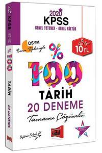 Yargı Yayınları 2020 KPSS Tarih Tamamı Çözümlü 20 Deneme