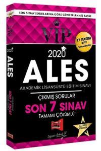 Yargı Yayınları 2020 ALES VIP Tamamı Çözümlü Son 7 Sınav Çıkmış Sorular – 17 Kasım 2019 Sınavı Dahil
