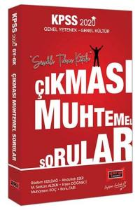 Yargı Yayınları 2020 KPSS Genel Yetenek Genel Kültür Çıkması Muhtemel Sorular