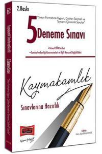 Yargı Yayınları Kaymakamlık Sınavlarına Hazırlık Tamamı Çözümlü 5 Deneme Sınavı 2. Baskı