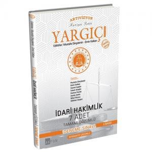 Yargıç İdari Hakimlik 7 Adet Tamamı Çözümlü Deneme Sınavı Akfon Yayınları 2019