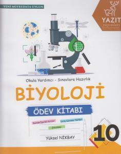 Yazıt Yayınları 10. Sınıf Biyoloji Ödev Kitabı