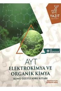 Yazıt Yayınları AYT Elektrokimya ve Organik Kimya Konu Özetli Soru Kitabı