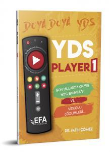 Benim Hocam Yayınları YDS Player 1 Son Yıllarda Çıkmış YDS Sınavları (EFA Serisi)