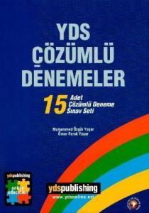 YDS Çözümlü Denemeler 15 Adet Çözümlü Deneme Sınav Seti - YDS Publishing