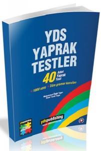 YDS Yaprak Testler 40 Adet Yaprak Test