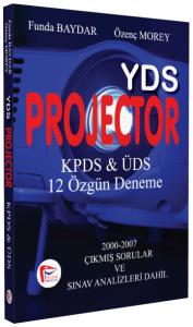 YDS Projector KPDS & ÜDS 12 Özgün Deneme