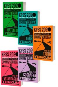 SET Yediiklim Yayınları 2020 KPSS Genel Yetenek Genel Kültür Tamamı Çözümlü Çıkmış Soru Seti