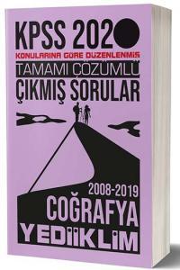 Yediiklim Yayınları 2020 KPSS Coğrafya Konularına Göre Düzenlenmiş Tamamı Çözümlü Çıkmış Sorular