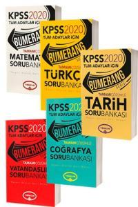 Yediiklim Yayınları 2020 KPSS Bumerang Genel Yetenek Genel Kültür Tamamı Çözümlü Soru Bankası Seti