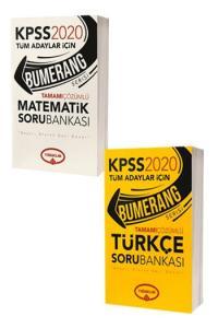 Yediiklim Yayınları 2020 KPSS Bumerang Genel Yetenek Tamamı Çözümlü Soru Bankası Seti
