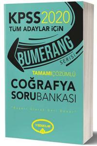 Yediiklim Yayınları 2020 KPSS Bumerang Coğrafya Tamamı Çözümlü Soru Bankası