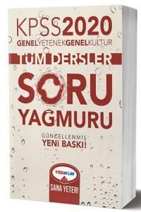 Yediiklim Yayınları 2020 KPSS Genel Yetenek Genel Kültür Tüm Dersler Soru Yağmuru