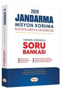Yediiklim Yayınları 2020 Jandarma Misyon Koruma Sınavlarına Hazırlık Tamamı Çözümlü Soru Bankası