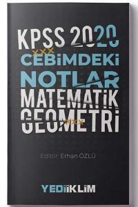 Yediiklim Yayınları 2020 KPSS Cebimdeki Notlar Matematik Geometri