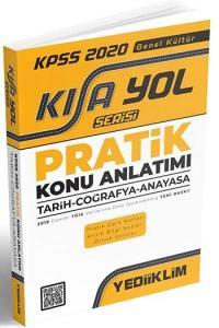 Yediiklim Yayınları 2020 KPSS Tarih Coğrafya Anayasa Pratik Konu Anlatımı Kısayol Serisi