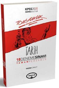Yediiklim Yayınları 2020 KPSS Tonyukuk Tarih Tamamı Çözümlü 18 Deneme Sınavı