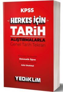 Yediiklim Yayınları 2020 KPSS Herkes İçin Tarih Araştırmalarla Genel Tarih Tekrarı