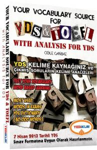 Yediiklim Your Vocabulary Source for YDS TOEFL with Analysis for YDS