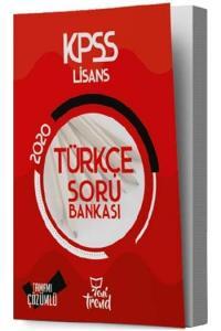 Yeni Trend Yayınları 2020 KPSS Türkçe Tamamı Çözümlü Soru Bankası